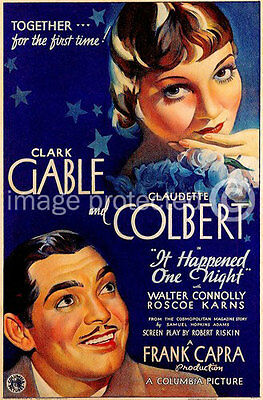 It Happened One Night Vintage Movie 11x17 Poster US Release Style 2
