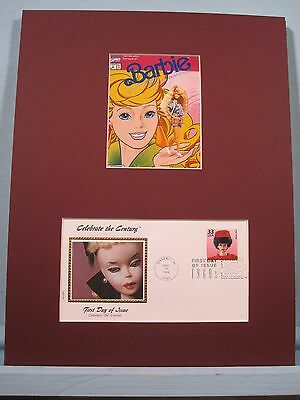 Honoring the Introduction of Barbie Dolls in 1960s & First Day Cover