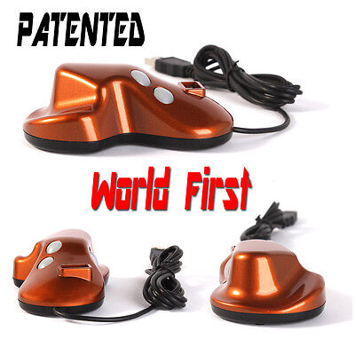 """KOREAN-Pen Type Mouse Prevent Wrist Pain """"Patented/World First Invention""""-BROWN"""