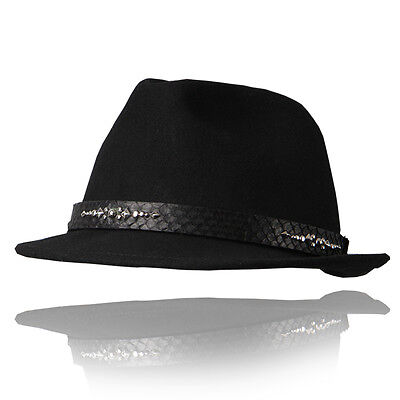 HANDMADE WESTERN HAT Genuine leather Cowboy hat Fedora