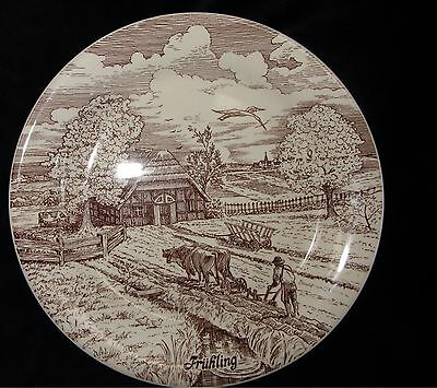 """""""spring"""" Collector  Plate - Cmb Exclusive Limited Edition"""