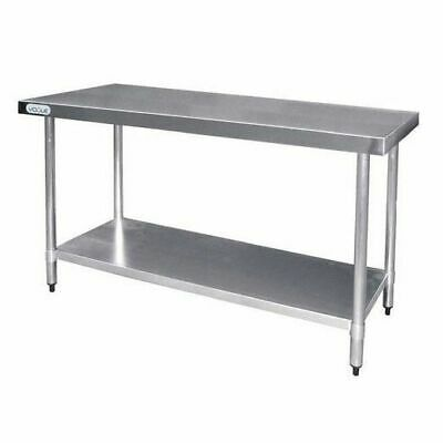 Kitchen Work Bench Stainless Steel with Undershelf Commercial 600x1800x900mm