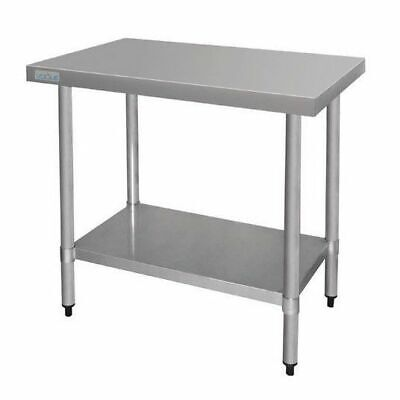 Kitchen Work Bench Stainless Steel with Undershelf Commercial 600x900x900mm