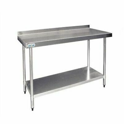 Stainless Steel Bench 900x900x600mm Undershelf & Splashback Commercial Kitchen
