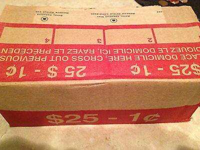 BRAND NEW BANKERS BOX - 2011 Canadian Pennies ---^^ 50 shiny new rolls ^^--
