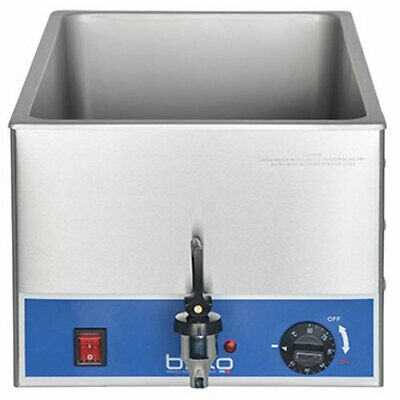 Birko Commercial Single Bain Marie with Taps - No Pans - Model 1110103 - New!