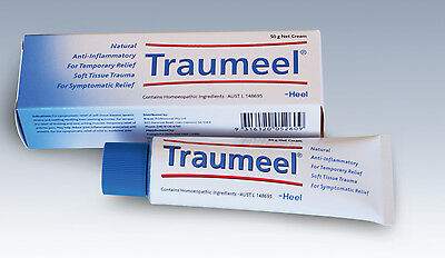 HEEL Traumeel natural anti-inflammatory cream 50g aches pain bruises arthritis