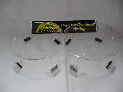 Nite Stalker 170 Clear Driving Spot Light Covers 4Wd 4X4 ~Brand New~