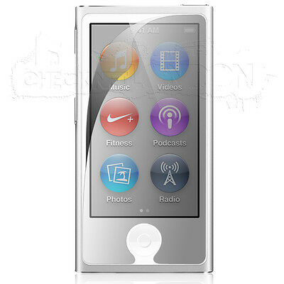 Crystal Clear Screen Protector Cover For the Apple iPod Nano 7 7th Generation