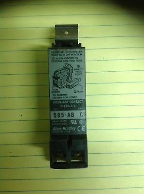Allen Bradley 595-Ab Series C Auxiliary  Contact Size 0-5