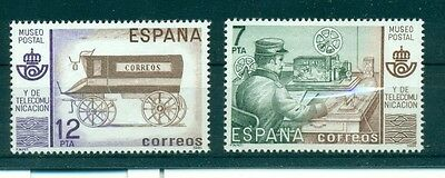 TRASPORTI POSTALI - MAIL TRANSPORTS SPAIN 1981 set