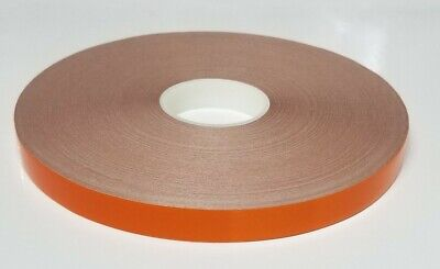 """1"""" x 150 ft Orange Reflective Pinstriping Safety Tape"""