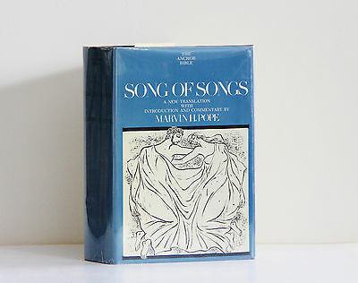 1977 Doubleday 1st Edition SONG OF SONGS (Anchor Bible Commentary) Marvn H. Pope