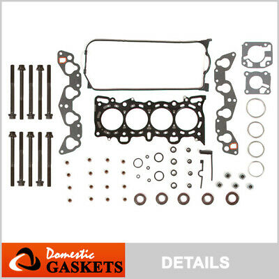 92-95 Honda Civic 1.5L 1.6L SOHC VTEC Head Gasket Bolts Kit D15Z1 D16Z6