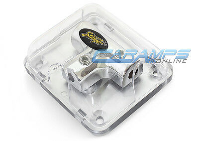 Stinger Power Or Ground 8 Gauge Awg Car Stereo Amp Wire Distribution Block 8G