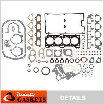 89-98 Dodge Colt Eagle Talon 2.0L DOHC HP MLS Full Gasket Set 4G63 4G63T
