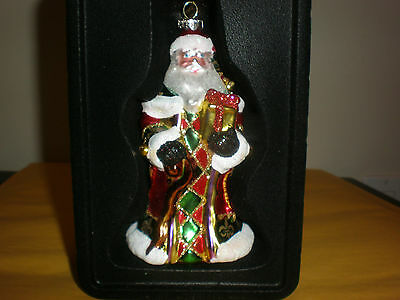 Christopher Radko Santa Ornament New In Box