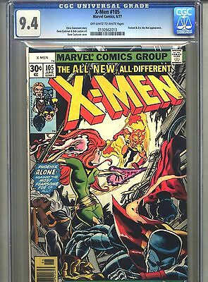 X-Men #105 CGC 9.4 (1977) Dave Cockrum Firelord Phoenix Misty Knight Lilandra