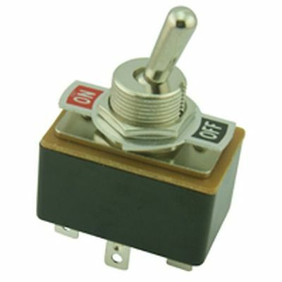 Robust Toggle Switch DPDT with On/Off Markings