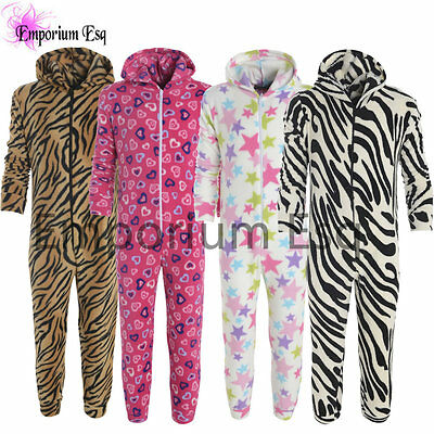 Childrens Official Casual All In One 1Zee 1See Overall Jumpsuit Sleepwear Night