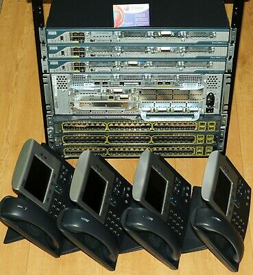 Complete CISCO CCNP VOICE ( CCVP ) and CCIE VOICE LAB  CISCO2801 CP-7940G 6mth
