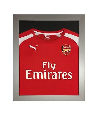 *1500+ Sold* Frames To Display Football Shirts - Shirt Frame - For Signed Silver