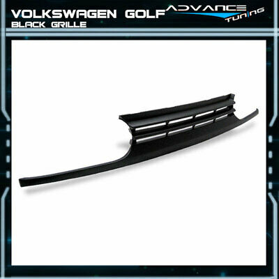 Fits 93-98 Volkswagen VW Golf Mk3 Black Front Bumper Grill Grille Guards