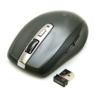 Logitech Anywhere Mouse Glossy MX Darkfield Laser