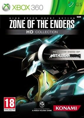 Zone Of The Enders HD Collection Xbox 360 * NEW SEALED PAL *