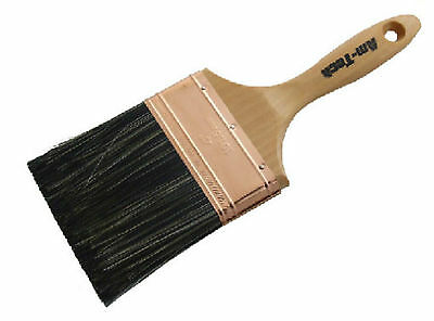 "Quality 4"" wall plastering brush water brush 100mm Wooden Handle DIY Home Paint"