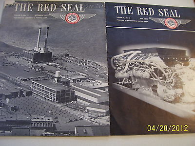 Vintage Continental Motors News -  Advertising Books 1948 -1949