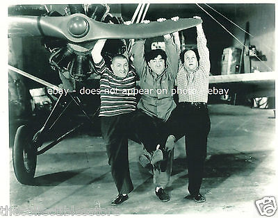 The Three Stooges Moe Curly Howard Larry Fine Vaudeville Tv Show 8 X 10 Photo