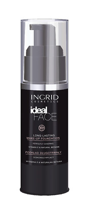 VERONA INGRID IDEAL FACE MAKE UP FOUNDATION SILKY EVERY SKIN various colours