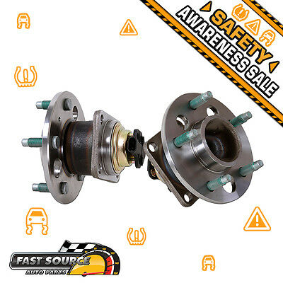 2 NEW Rear Left & Right Wheel Hub and Bearing Assembly Pair FWD F031228