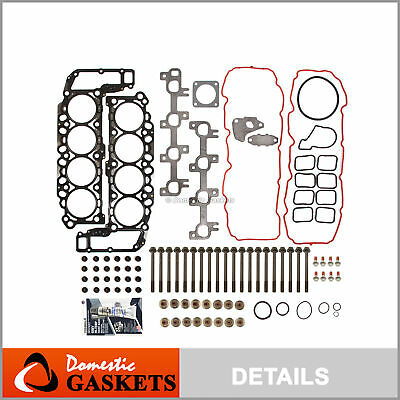 04-07 Dodge Dakota Durango Ram 1500 4.7L SOHC Head Gasket Bolts Set