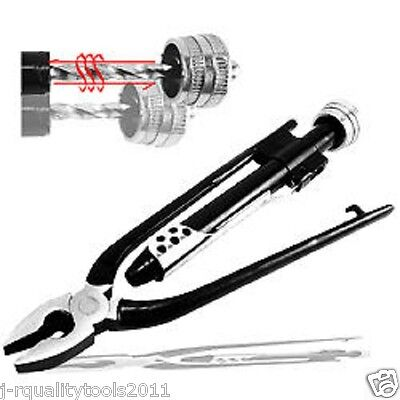 """6"""" Aircraft Safety Wire Twist Twister Lock Pliers Tool"""