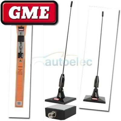 GME AE5002 ON GLASS MOUNT ANTENNA FOR UHF CB BAND RADIO 477 mhz NEW STICK ON