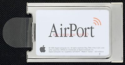 APPLE Airport Card ibook G3 G4 Mac Wireless WiFi 802.11b  A1005 Series