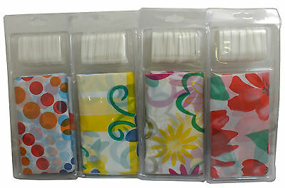 Deluxe Shower Curtain With 12 hooks  (4 Designs to Choose) Size 180cm x 180cm