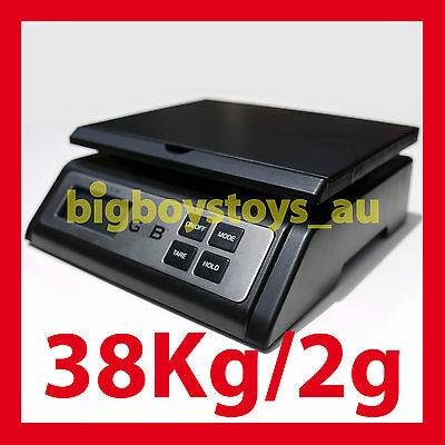 Digital Postal Shipping Scales Parcel Postage Scale Box Carton 38Kg Maximum
