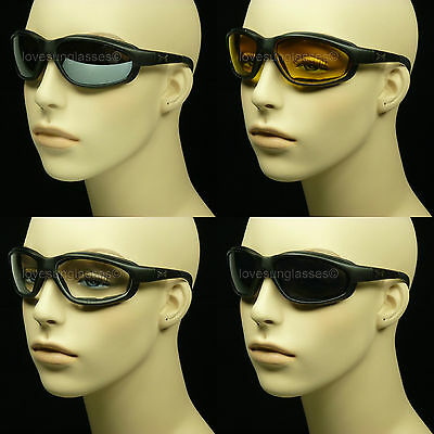5de67816beb Sunglasses Motorcycle Goggle New Chopper Pad Foam Riding Frame Wind Block  Lens
