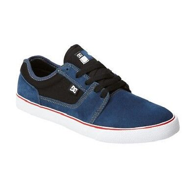 DC - TONIK S - Mens Shoes (NEW) Denim Blue SKATE FOOTWEAR Black White FREE SHIP!