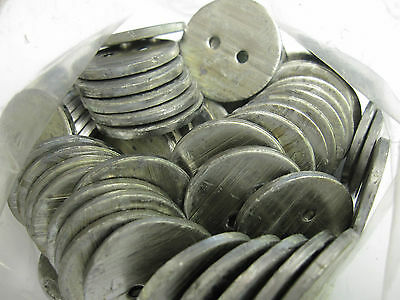 Lead Penny Curtain Weights - Sewing workroom 14g sew in hem weight 25mm Diameter
