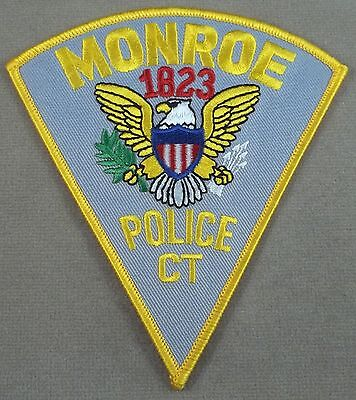 Monroe Connecticut Police Department Patch