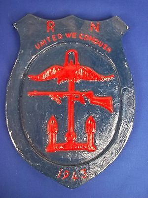 Combined Operations 1943 Plaque - Unmounted