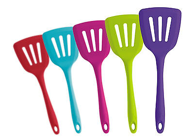 CKS Zeal Silicone Slotted Turner - Various colours available. Kitchen Utensil