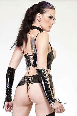 Domina Lack Dessous Set