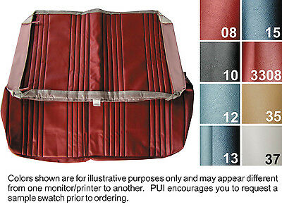 1965 Buick Skylark Gs Coupe Rear Seat Cover  8 Colors Available  1 Pc