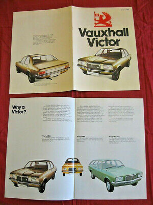 N°4346 / catalogue VAUXHALL VICTOR august 1974