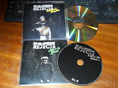 All American Rejects - Beekeepers daughte/ Kids in the street - 2 x CD PROMO set